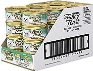 Fancy Feast Cod, Sole & Shrimp Patè Wet Cat Food, 24 Can, 24X85g
