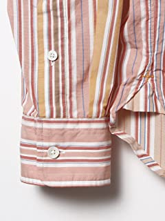 Stripe Buttondown Shirt 11-11-4002-139: Pink