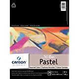 "Canson 100510864 Mi-Teintes Pastel Pad, Paper, Assorted Colors, 9""X12"""