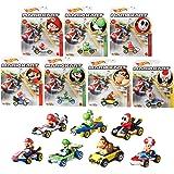 ホットウィール(Hot Wheels) マリオカート アソート Mix1【ミニカー8台セット BOX販売】 987K-GBG25