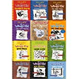 Diary of a Wimpy Kid Collection 12 Books Set (Double Down, Old School, Hard Luck,Third Wheel, Cabin fever, The Ugly Truth, Do