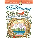 Creative Haven Beautiful Bible Blessings Coloring Book
