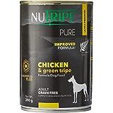 Nutripe Pure Wet Dog Food, Chicken & Green Tripe, 390g