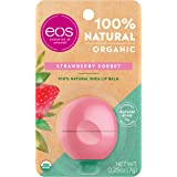 EOS Smooth Sphere Lip Balm, 0.25 Ounce, Strawberry Sorbet