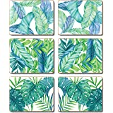 Cinnamon CMC373 Tropical Leaves Coasters