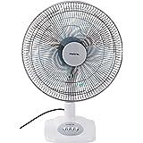 """Mistral MTF161 Table Fan, 16"""", Winter Grey"""