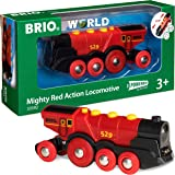 Brio 33592 Mighty Red Action Locomotive Train, Red, Standard