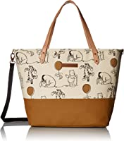 Petunia Pickle Bottom DTDS-575-00 Downtown Tote, Winnie the Pooh & Friends