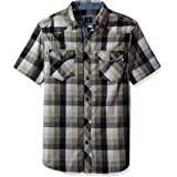 Lee Mens Short Sleeve Woven Shirt Short_Sleeve Button-Down Shirt