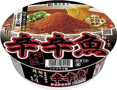 寿がきや食品 麺処井の庄監修辛辛魚らーめん 136g ×12箱