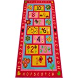 """Hopscotch Rug, Extra Large / Wide 72""""x39"""" 