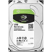 Seagate BarraCuda 3.5インチ 3TB 内蔵ハードディスク HDD 2年保証 6Gb/s 256MB…