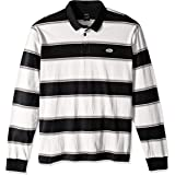 RVCA Mens M952VRAS April Skies Long Sleeve Polo Shirt Long Sleeve Polo Shirt