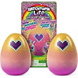 Hatchimals Hatchtopia Life 2-Pack, 2-inch tall Plush Hatchimals with Interactive Game, for Ages 5 and up (Styles May Vary)