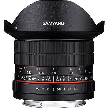 SAMYANG 単焦点魚眼レンズ 12mm F2.8 フィッシュアイ ソニーαE用 フルサイズ対応 883683