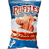 Ruffles Flamin Hot Potato Chips, Flamin' Hot, 184.2g,28400659789