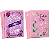 Hallmark Mothers Day Card Assortment, Remembering You on Mother's Day (6 Cards with Envelopes)