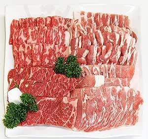肉のひぐち 飛騨牛 & 国産 豚肉 バーベキューセット 1kg 4~5人分 牛肉 牛カルビ 牛もも・かた 豚肉 豚バラ 豚ロース セット BBQ キャンプ おうち焼肉 に 。 冷凍でお届け致します