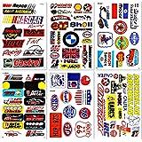 Cars Motorsport Nascar Racing Lot 6 vinyl stickers decals D6093