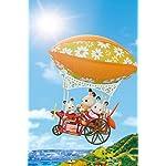 シルバニアファミリー iPhone(640×960)壁紙 空のぼうけん飛行船