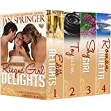 Risqué Girl Delights Boxed Set: Four Book Box Set ~ includes Erotic Romance Menages, Romance with Menage, Romance with Suspen