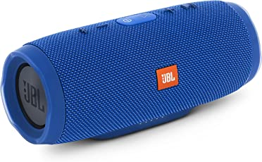 JBL CHARGE3 Bluetoothスピーカー IPX7防水/ポータブル/パッシブラジエーター搭載 ブルー JBLCHARGE3BLUEJN 【国内正規品】
