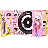 LOL Surprise OMG Remix Kitty K Fashion Doll – with 25 Surprises, Plays Music, with Extra Outfit, Shoes, Hair Brush, Doll Stan