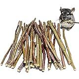 Apple Sticks 120 Gram Rabbit & Hamster Chew Toys - 100% Natural & Organic Chinchilla Food, Treats for Guinea Pig, Squirrels,