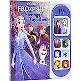 Disney Frozen 2 Elsa, Anna, Olaf, and More! - Stronger Together Little Sound Book - PI Kids