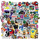 100Pcs Game Among Us Waterproof Stickers for Laptops Books Cars Motorcycles Skateboards Bicycles Suitcases Skis Luggage Hydro
