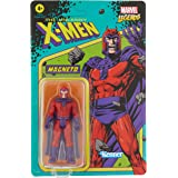Marvel Hasbro Legends Series 3.75-inch Retro 375 Collection Magneto Action Figure Toy