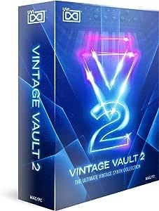 Vintage Vault 2 - プレミアムシンセ音源コレクション