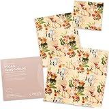 Zenify Earth Vegan Food Wraps - Set of 3 - Eco Friendly Reusable Food Storage Covers - Australian Made