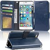 【Amazon限定ブランド】iPhone 6s Plus ケース 手帳型 iPhone 6 Plus ケース 手帳 - スマホケース iPhone6sPlus/ iPhone6Plus 「ストラップ付き 横置き機能 カードポケット付き」 Arae ア