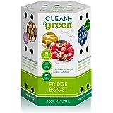 Clean+Green Fridge Boost Refrigerator Food Preserver and Life Extender - Keeps Food Fresh Longer (1-Pack)