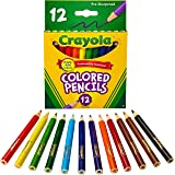 Crayola 12 Mini Colored Pencils, Pre-Sharpened, Long-Lasting, Great for Drawing and Colouring, Perfect Addition to Any Pencil
