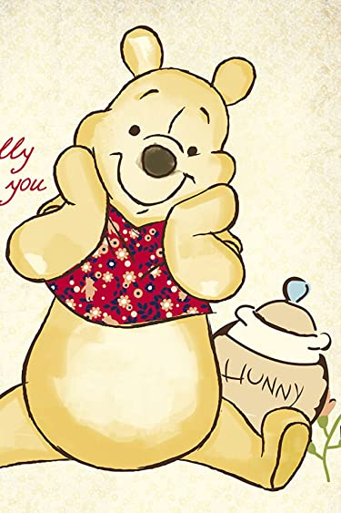 ディズニー  iPhone/Androidスマホ壁紙(640×960)-11 - 『クマのプーさん』プー(Winnie-the-Pooh)