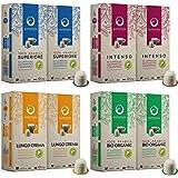 [Amazon限定ブランド] Punto Italia Espresso Journey プント・イタリア・エスプレッソ ネスプレッソ互換カプセル バラエティパック 1箱10カプセル入り 8箱セット