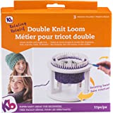 Authentic Knitting Board Rotating Double Loom, Off White