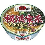 日清 麺NIPPON 横浜家系とんこつ醤油ラーメン 119g×12個