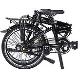"Dahon Mariner I7 Folding Bike, Lightweight Aluminium Frame 7-Speed Shimano Gears 20"" Foldable Bicycle for Adults"