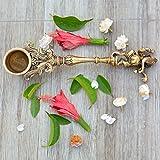 Aakrati Ganesh Spoon - Yagya Hawan, hawan Spoon, Poojan Purpose, Indian Cultural Religious Item Best for Home, Office, Gifts