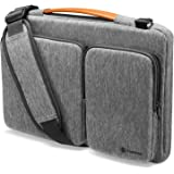 tomtoc 360 Protective Laptop Shoulder Bag for 16-inch New MacBook Pro, 15 Inch Microsoft Surface Book 3/2, 15 Inch Old MacBoo