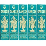 Ganesh Special Fluxo Incense - 5 Packs, 25 Grams per Pack