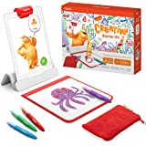 Osmo - Creative Starter Kit for iPad - Ages 5-10 - Creative Drawing & Problem Solving/Early Physics - STEM - (Osmo Base Inclu