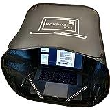 TECH SHADE TO GO _ Portable Laptop Sun Shade, Privacy Cover, Laptop Sun Shade, Laptop Shade for Working Outside, Laptop Shade