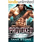 Provoked: A Sci-Fi Alien Warrior Romance (Raider Warlords of the Vandar Book 6)