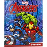 Marvel Avengers Look and Find Activity Book - Includes Characters from Avengers Endgame - PI Kids