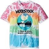 Liquid Blue Mens 11142-Mlt T Dy-XL Woodstock Woodstock Banded Tie Dye Short Sleeve T-Shirt Short Sleeve T-Shirt - Multi
