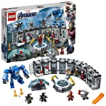 LEGO Marvel Avengers Iron Man Hall of Armor 76125 Building Kit